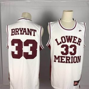 Kobe Bryant #33 High School basketball Jersey